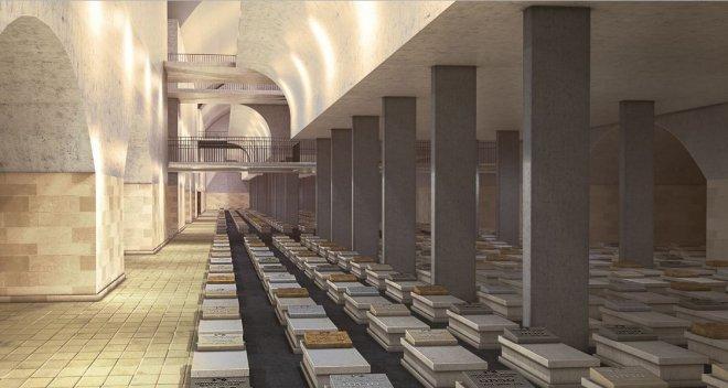 City of the dead in Jerusalem