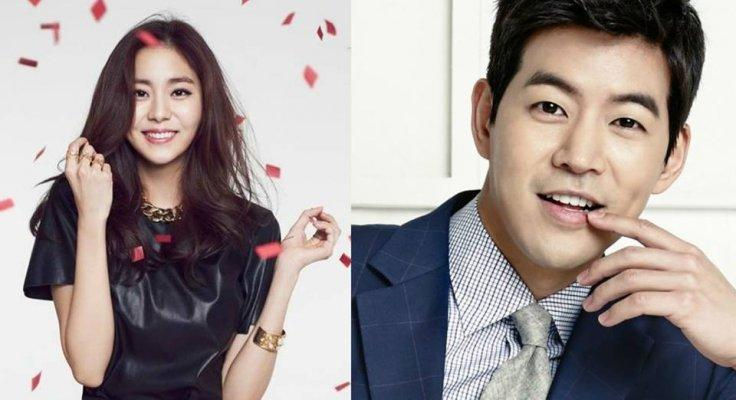 Lee Sang Yoon and Uee