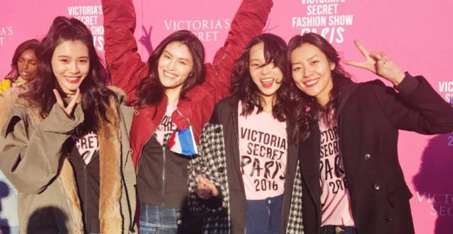 Chinese Models making their debut