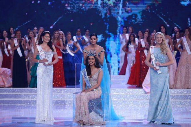 Miss India Manushi Chhillar is crowned Miss World 2017