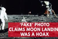 Fake photo continues conspiracy that the moon landing was a hoax
