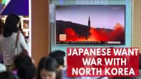 New poll shows Japanese want to go to war with North Korea