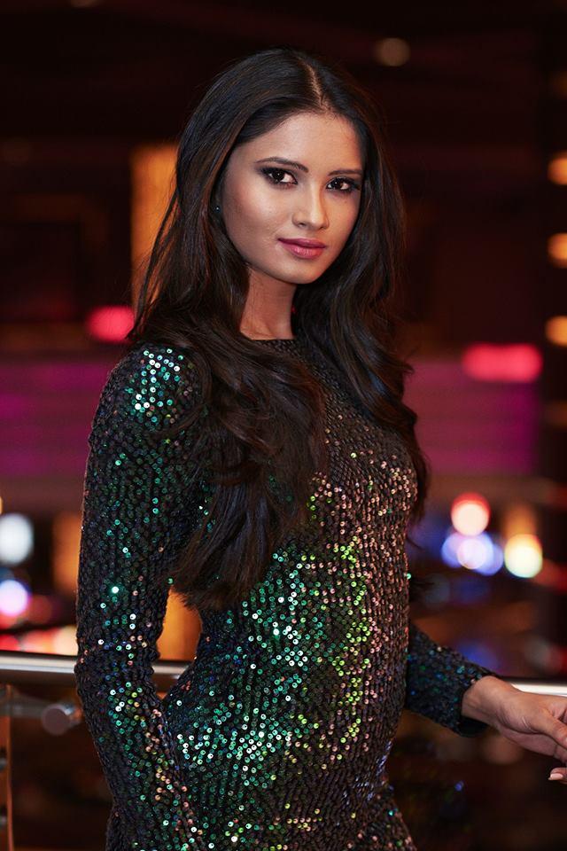 Shraddha Shashidhar Miss Universe India 2017