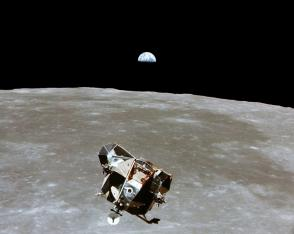 File photo of the Apollo 11 Lunar Module ascent stage