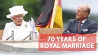 Queen Elizabeth II celebrates 70th wedding anniversary with Prince Philip