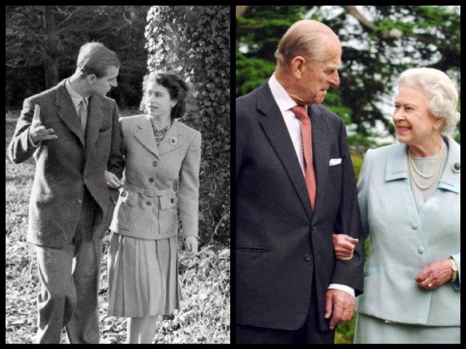 Queen Elizabeth Ii And Prince Philip Platinum Wedding Anniversary
