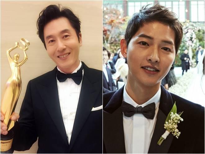 Kim Joo Hyuk (left) and Song Joong Ki