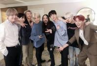 BTS with Steve Aoki