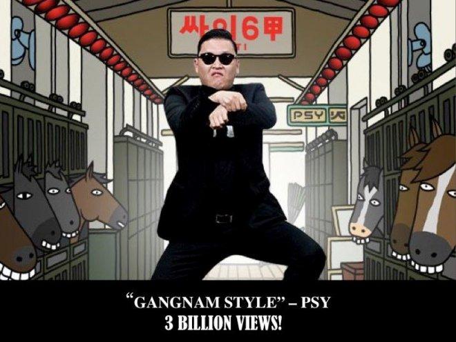 Psy in 'Gangnam Style'