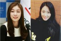 Kim Yuna (left) and Seolhyun