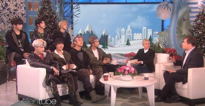 BTS on the 'Ellen'
