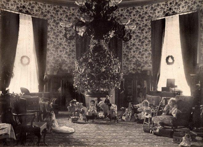 Christmas Cheer: the Cleveland family tree