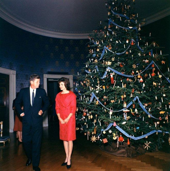 Christmas themes: Jacqueline Kennedy refines the season