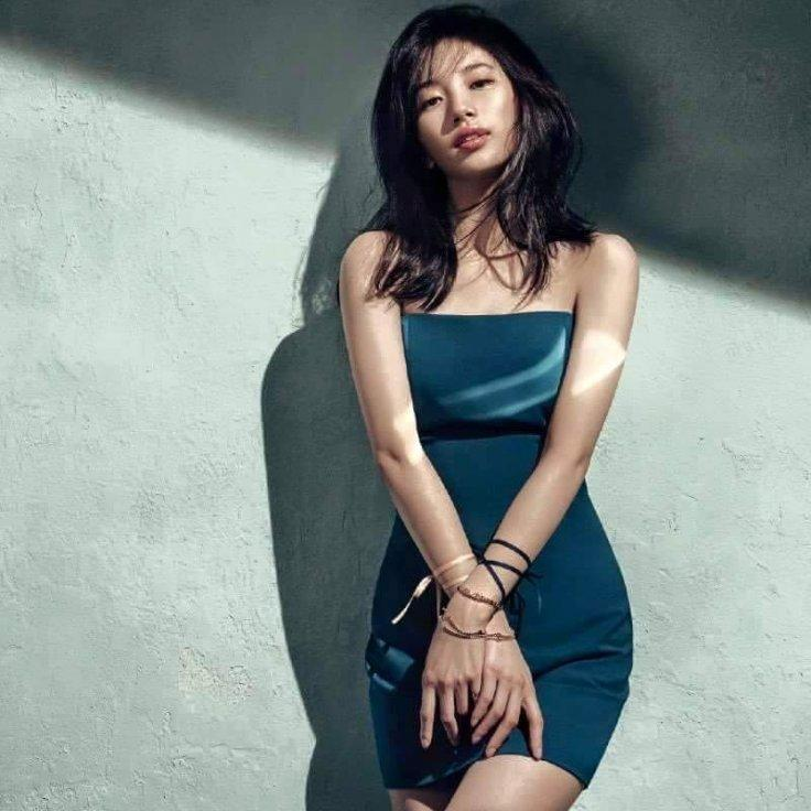 Suzy Bae posing for Didier Dubot