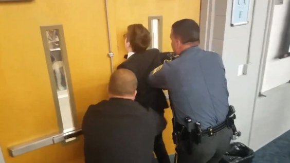 Its OK to be white speaker arrested following altercation with protester