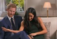 Watch Prince Harry and Meghan Markle goof around in engagement interview outtakes