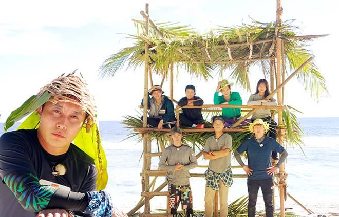 Kim Byung Man and the cast of the new 'Law of the Jungle'