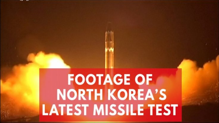 Video shows Kim Jong-un watching North Koreas latest missile test