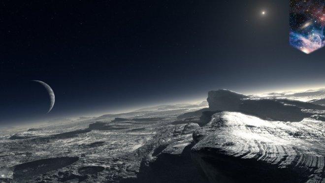 ice cold Pluto
