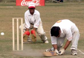 Blind cricketers