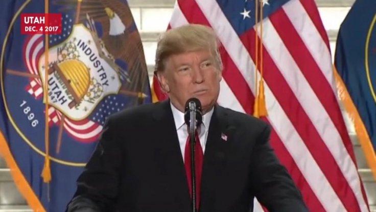 Trump delivers speech on Utah monument rollbacks
