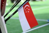 File image of a Singapore flag