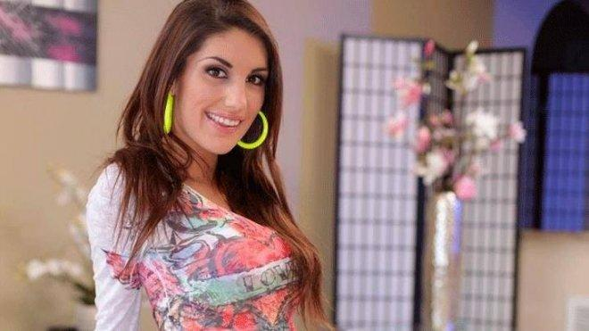 August ames smiling