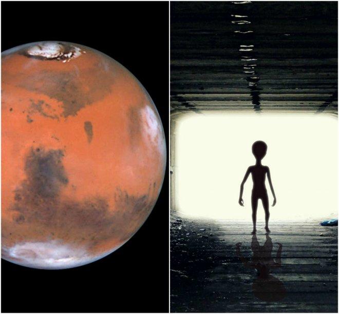 Human visited Mars