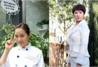Kim Sun-a in 'My Name is Kim Sam Soon' (left) and 'Woman of Dignity'