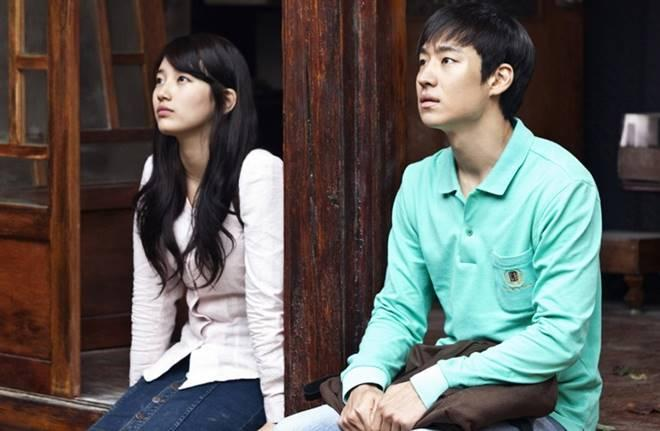 Suzy and Lee Je-hoon