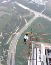 Man from China plunges himself to death from 62- story building