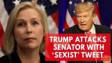 US Senator calls President Trumps tweet a sexist smear