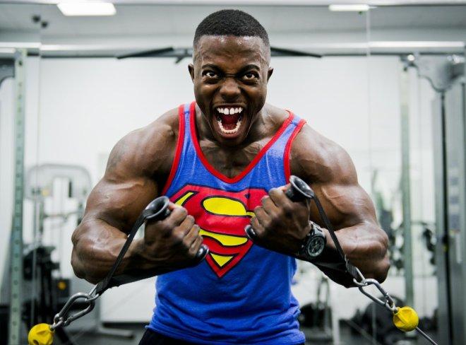 High-intensity workout
