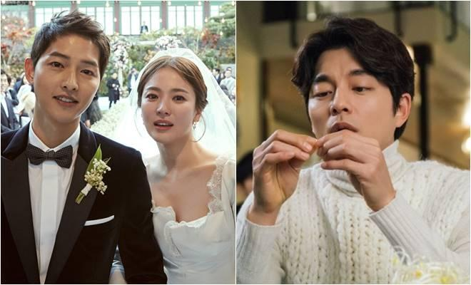 Song Joong Ki, Song Hye Kyo and Gong Yoo