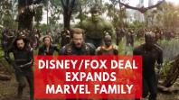X-Men and Fantastic Four joining Marvel after Disney/Fox merger