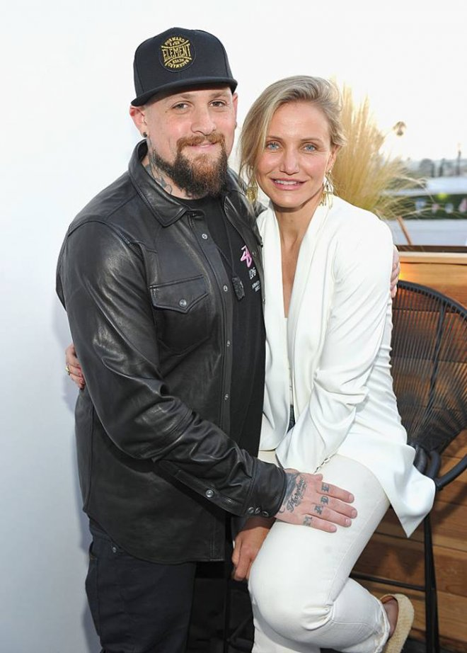 Benji Madden and Cameron Diaz