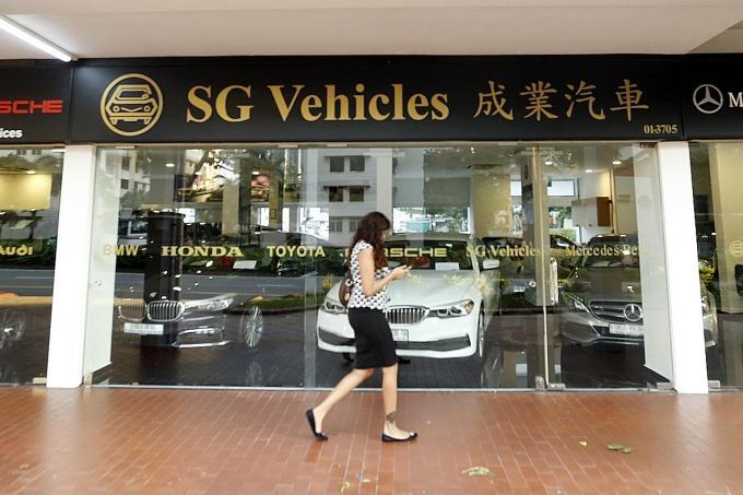 SG Vehicles Singapore