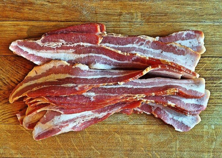 Naked bacon