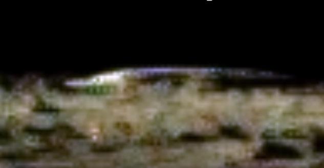 ufo in moon