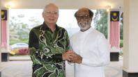 Rajinikanth with Malaysian PM