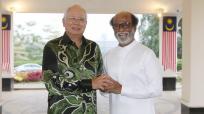 Rajinikanth with Malaysian PM