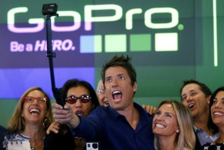 GoPro employees and founder Nick Woodman