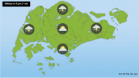 The National Environment Agency Singapore weather forecast