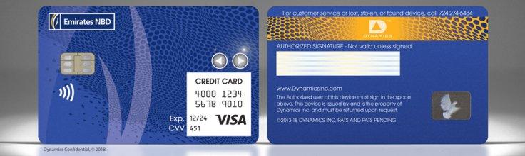 Visa-branded Wallet Card
