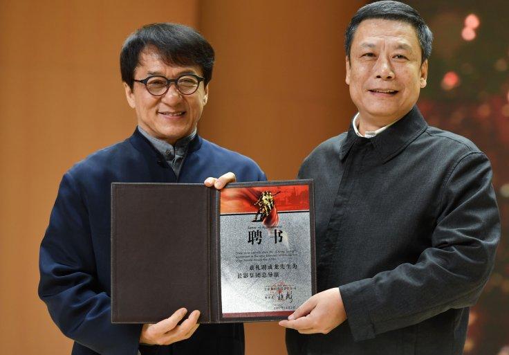 Movie star Jackie Chan, Entertainment