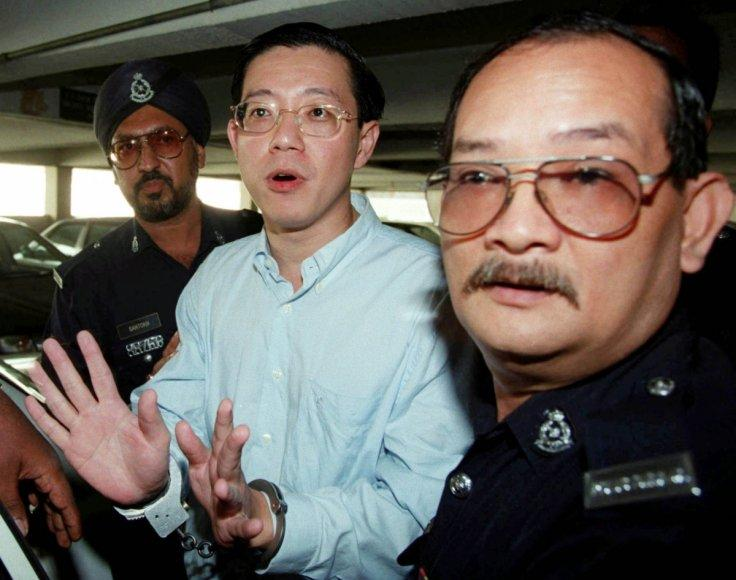 Penang chief Lim Guan Eng arrested on corruption charges