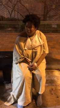 Woman patient left stranded in midnight