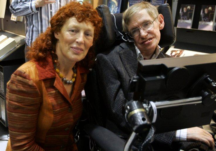 Stephen Hawking and wife Elaine Mason
