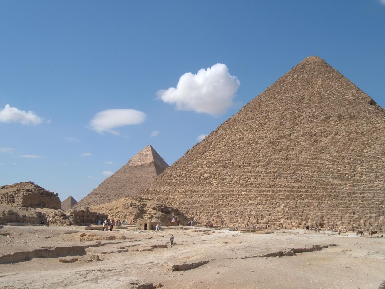 Pyramider Radiocarbon dating projekt