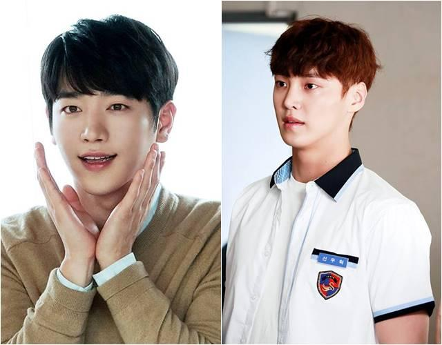 Seo Kang Joon (left) and Lee Tae Hwan of 5Surprise, a group under Fantagio